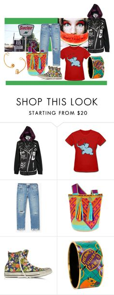 """""""Get Your Kicks on Route 66"""" by pampire ❤ liked on Polyvore featuring Abbey Dawn, MANGO, Converse, Hermès and Glenda López"""
