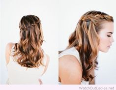 Make a quick makeover in your look without going to a salon with only a braid. More than 30 cute braid tutorials for your eyes only.