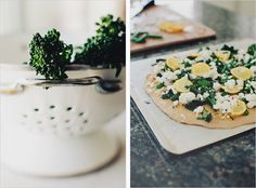Broccolini + Charred Lemon Pizza - Sprouted Kitchen