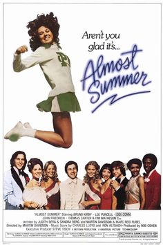 """ALMOST SUMMER 1978. ON DVD. Unedited version. Dig the 70's clothes and haircuts!  Bobby DeVito is the """"senior campaign strategist"""" in a highly contested high school student body presidential election. Christine Alexander is Bobby's former girlfriend who's almost guaranteed to win the election...because her opponent got suspended!  Skateboard alert: Three professional skateboarders appear in the film. Brian Wilson and Mike Love of the Beach Boys wrote the """"Almost Summer"""" theme song."""