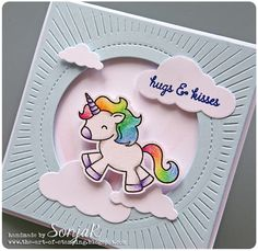 SonjaK - The Art of Stamping: Hugs & Kisses - World Cardmaking Day