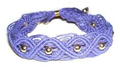 Oval Bracelet #knots #macrame