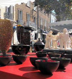 International pottery fair, Aubagne, Bouches-du-Rhône