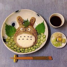 Totoro of Soba noodle. Soba (そば or 蕎麦) is the Japanese name for buckwheat.