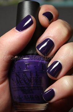 Love the dark color purple!