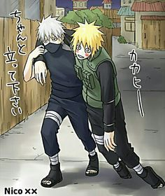 Kakashi carrying drunk Minato home Kakashi Hatake, Naruto Shippuden Sasuke, Anime Naruto, Anime Fr, Kakashi And Obito, Team Minato, Naruto Team 7, Funny Naruto Memes, Cartoon Network