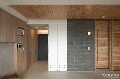 Solid wood Korean home porch decoration design 2016
