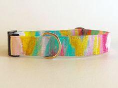 The Lola Belle Dog Collar  Handmade Dog by DixieGoodsCompany