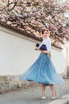magnolia4 Skirt Outfits, Dress Skirt, Dress Up, Cute Outfits, Vintage Girls, Vintage Outfits, Fashion Outfits, Womens Fashion, Fashion Trends