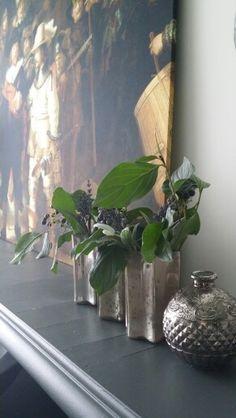 Grote vazen met kunstbloemen van de kwantum   zelf maken interieur ...