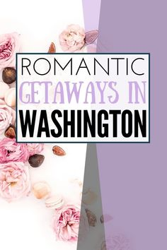 Looking for a romantic getaway idea in Washington state? We have you covered with these top romantic couples getaways in Washington including resorts with in-suite hot tubs spas and more! Moving To Washington State, Western Washington, Seattle Washington, Best Romantic Getaways, Family Vacation Destinations, Vacations, Travel Destinations, Amazing Adventures, Romantic Couples
