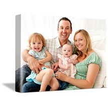Faux Photo Canvas Single Image/Turn family wedding photos, childhood photos into a wall hanging. Command strips and ribbon. Maybe even the three of us in the room have a 'family photo'? Personalised Photo Cards, Family Photos, Couple Photos, Childhood Photos, Walmart Photos, Dorm Life, Photo Center, Custom Cards, Photo Canvas