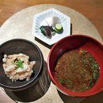 六雁 - 料理写真:お食事/蛸飯 赤だし 香の物