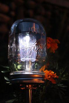 Tarro solar Powered luces Eco amigable tarro camino por BootsNGus