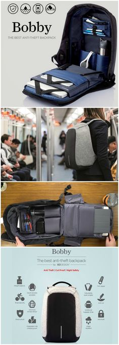 Every day, 400,000 pickpocket incidents occur worldwide. Never worry about this happening to you with the Bobby Anti-Theft backpack.