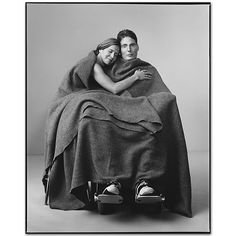 Christopher Reeve with Dana Reeve, 1999, by Mary Ellen Mark