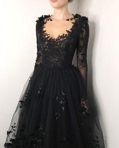 Black Wedding Dresses, Prom Dresses, Black Quinceanera Dresses, Long Formal Gowns, Custom Dresses, Tulle Lace, Looks Vintage, Dress Black, Black Lace Dresses