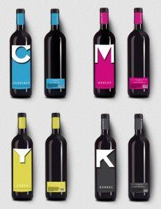 #CMYK #Wine Bottles #Packaging