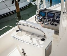 Leaning Post Storage Center Console Boat Ideas Tackle