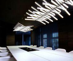design studio workspace,amazing offices,beginner worko… – Home Office Design For Women Office Lighting, Interior Lighting, Lighting Design, Lobby Interior, Luxury Lighting, Unique Lighting, Lobby Design, Design Hotel, Corporate Interiors