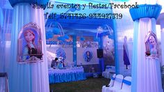 Decoración de Frozen Sheylla eventos y fiestas/facebook Informes Imbox. Correo: sheylla_eventos@hotmail Telf. 5741436-944937319 Lima-Perú