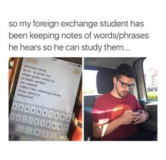 """My foreign exchange student did the same thing and thought that lit was the funniest thing ever and kept saying it all the time like """"thanks for this food it was lit"""""""