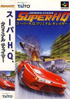 Super HQ: Criminal Chaser (Taito), Super Famicom