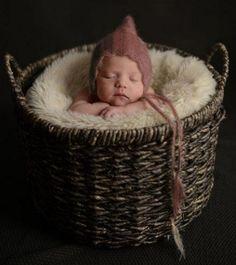 Baby Fotoshooting Mützchen Mütze Haube Häubchen Mohair Newborn Fotografie Foto