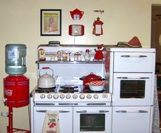 OUR KITHEN STOVE...WOODWARD FARM