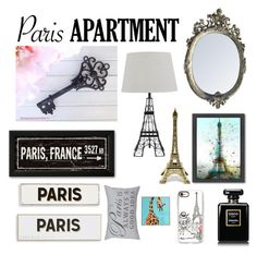 PARIS APARTMENT-CONTEST by zappytiara on Polyvore featuring polyvore, interior, interiors, interior design, home, home decor, interior decorating, Rosanna, Americanflat, Park B. Smith, Casetify and parisapartment
