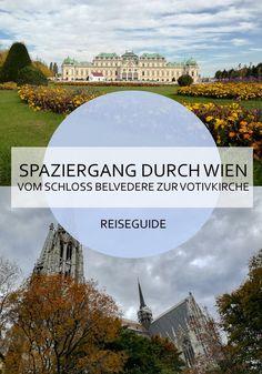 Wien bietet so viele Sightseeing - Möglichkeiten! Bei diesem Spaziergang hast du gleich mehrere interessante Spots inklusive! #wien #österreich #reisen #citytrip #städtetrip #belvedere #sightseeing #spaziergang #route