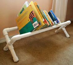 s 15 ridiculously cool uses for leftover pvc pipe, crafts, repurposing upcycling, Make a Simple Book Stand for the Bedroom
