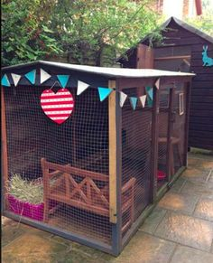 All sorts of rabbit housing idea for you to view. Great ideas, lots of fun and ways to make your bunnies' housing an attractive feature in the garden/home as well as a fantastic environment for. All sorts of rabbit housing idea for you to view. Bunny Sheds, Rabbit Shed, Rabbit Run, House Rabbit, Pet Rabbit, Outdoor Rabbit Hutch, Indoor Rabbit, Bunny Cages, Rabbit Cages