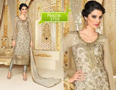 Ethnic Designer Partydress Pakistani Suit Anarkali Bollywood Indian Salwar Nazia #KriyaCreation #SalwarSuit