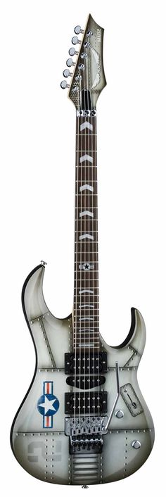 Dean Michael Batio MAB2 Aviator Electric Guitar w/ Chrome Hardware - Aviator Custom Graphic