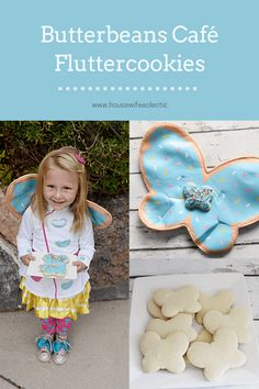 Bring a little magic into your life with these copycat Butterbeans Café Fluttercookies from the soft cookie, delicious homemade frosting and fairy finish. Chocolate Marshmallow Cookies, Chocolate Chip Shortbread Cookies, Toffee Cookies, Spice Cookies, Yummy Cookies, Sugar Cookies, Homemade Frosting, Homemade Cookies, Mocha Drink