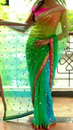 #Funky #Saree by Aakriti Collections https://m.facebook.com/AakritiCollections