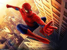 Spider-man è uno dei super eroi che preferisco. Mi piacciono le sue acrobazie e come si arrampica ovunque per affrontare i suoi nemici. Detesto i ragni ma per lui posso fare un'eccezione. E' molto amato dai bambini.