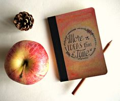 Little notebook hand painted More ideas than by Cestinodimirtilli