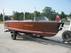 1953 Chris-Craft Utility Wooden Boat - OnATrailer.com