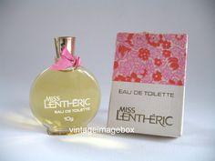 MISS LENTHERIC by Lentheric Vintage MINI by VintageImageBox,