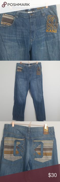 Karl Kani Original Jeans 38 x 34 Vintage Hip hop In very good preowned  condition. 77b55e83000