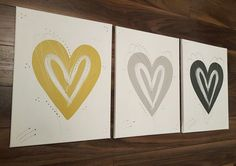 Habitat mustard yellow grey silver love Heart wall art canvas post next 5 days