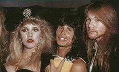 Stevie, Axl Rose, Steve Tyler