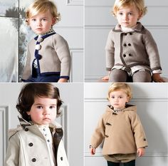teenie  peacoats, I know some short people who'd look great in these!