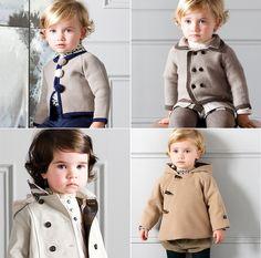 This kid's clothing line is so cute! By Nanos www.nanos.es