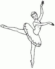 ballet_dancer_08 Adult coloring pages