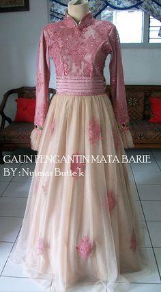 #moslemweddinggown#madebycustome#handmade#homemade#bajupengantin#gaunwisuda#gaunresepsi