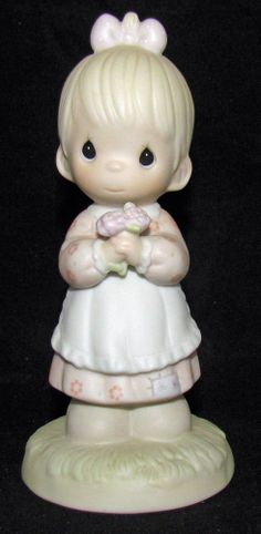 Precious Moments Figurine w/ Box ~ 112143 ~ Mommy I Love You Signed SB