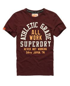 Superdry All Work T-Shirt